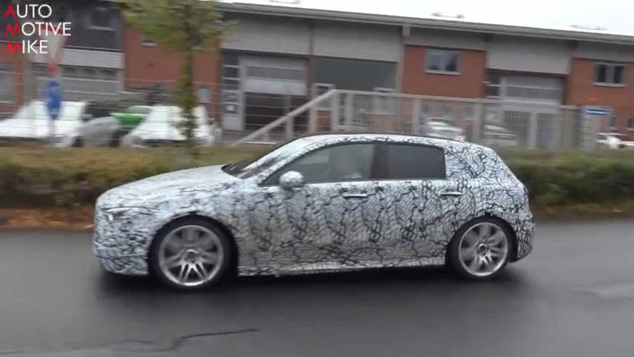 See The 2018 Mercedes A-Class Get Stalked At The Nürburgring