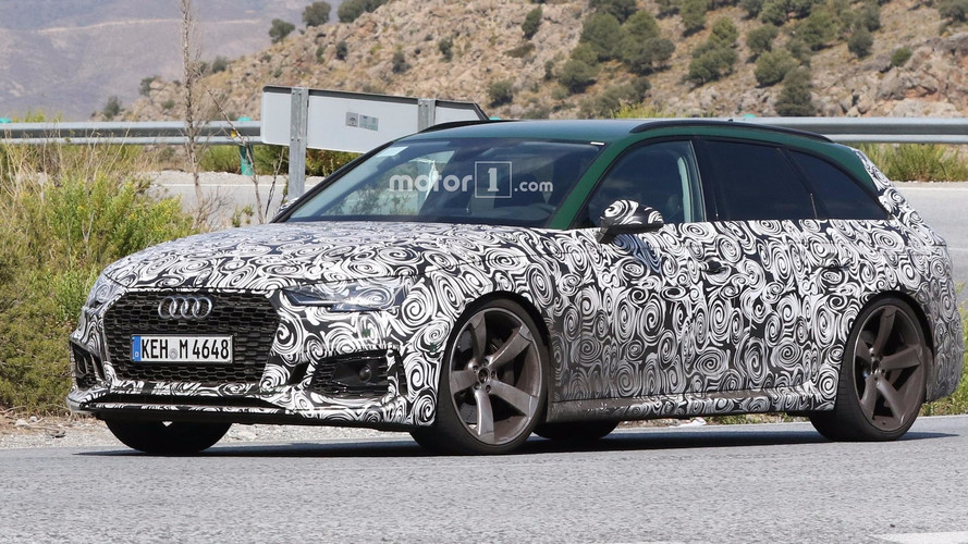 New Audi RS4 Avant Spied One Last Time To Show Sonoma Green Paint
