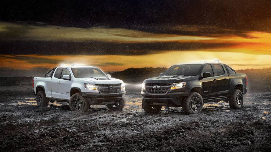 2018 Chevy Colorado ZR2 Goes Dark With Midnight And Dusk Editions