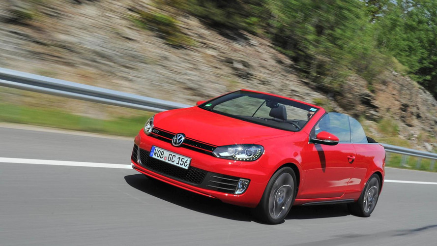 Volkswagen Golf GTI Cabriolet, new photos and video