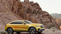 Mercedes-Benz GLC Coupe concept leaked image