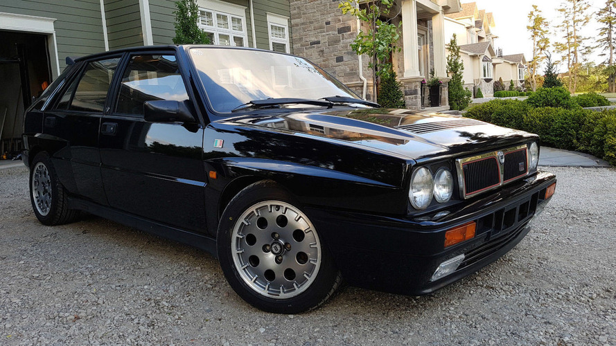 1991 Lancia Delta Integrale is a rare eBay find
