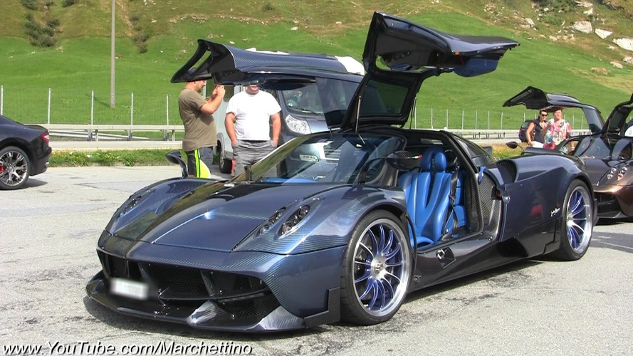 Pagani Huayra Futura hits the road for the first time
