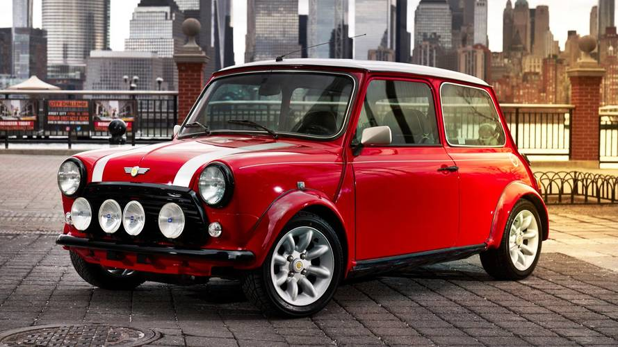 Classic Mini back from the dead at New York motor show