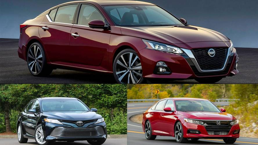 How The 2019 Nissan Altima Stacks Up To Its Japanese Competitors