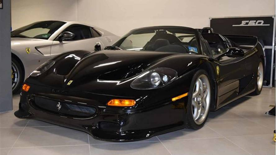 Rare, Low-Mileage Ferrari F50 Nero Daytona Costs $5 Million