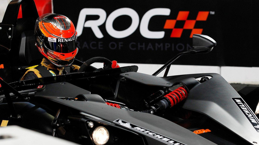 Grosjean wins Race of Champions - says F1 career 'on track' [video]