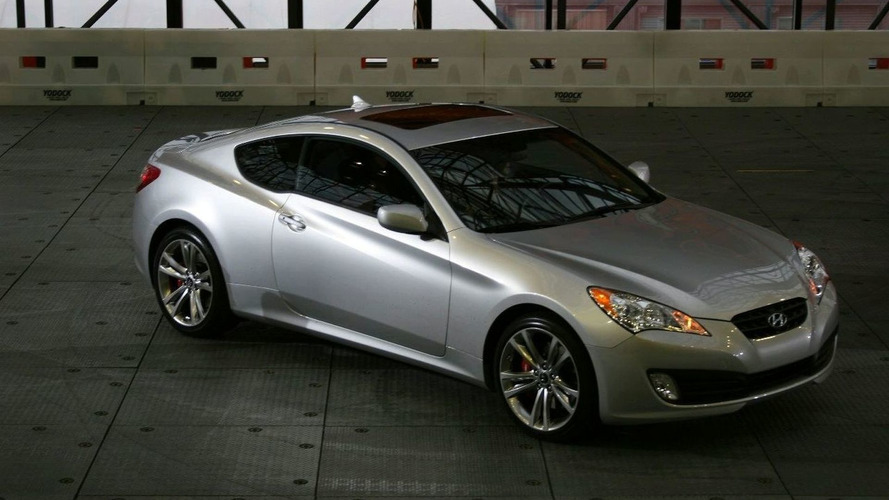 Hyundai Genesis Coupe Revealed in NY