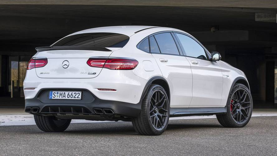 2018 Mercedes Amg Glc63 Coupe First Drive