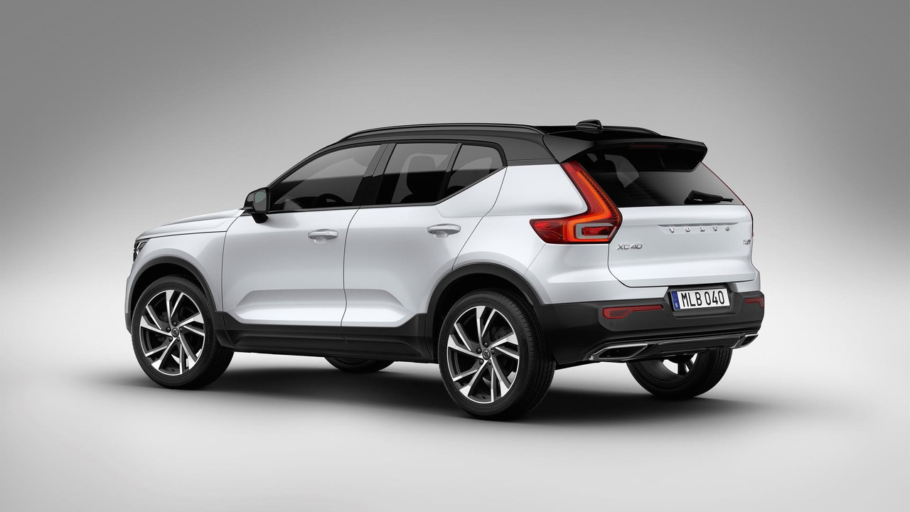 2018 volvo xc40 reveal photos. Black Bedroom Furniture Sets. Home Design Ideas