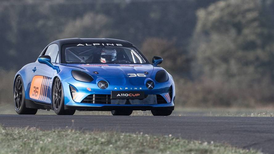 alpine a110 cup is ready for european one make race series. Black Bedroom Furniture Sets. Home Design Ideas