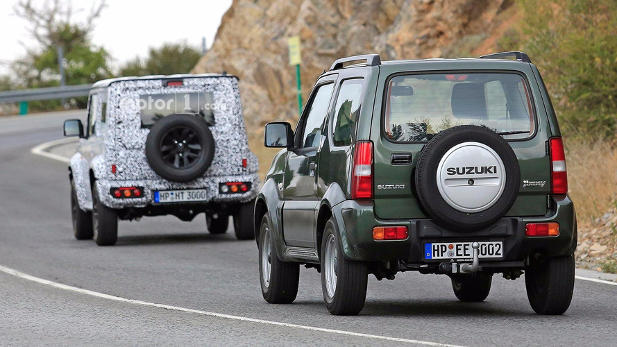 2018 suzuki samurai. brilliant suzuki 2018 suzuki jimny spy photos for suzuki samurai