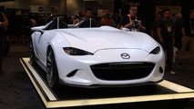 Mazda MX-5 Miata Speedster Evolution concept Live Photos