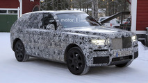 2019 Rolls-Royce Cullinan spy photo