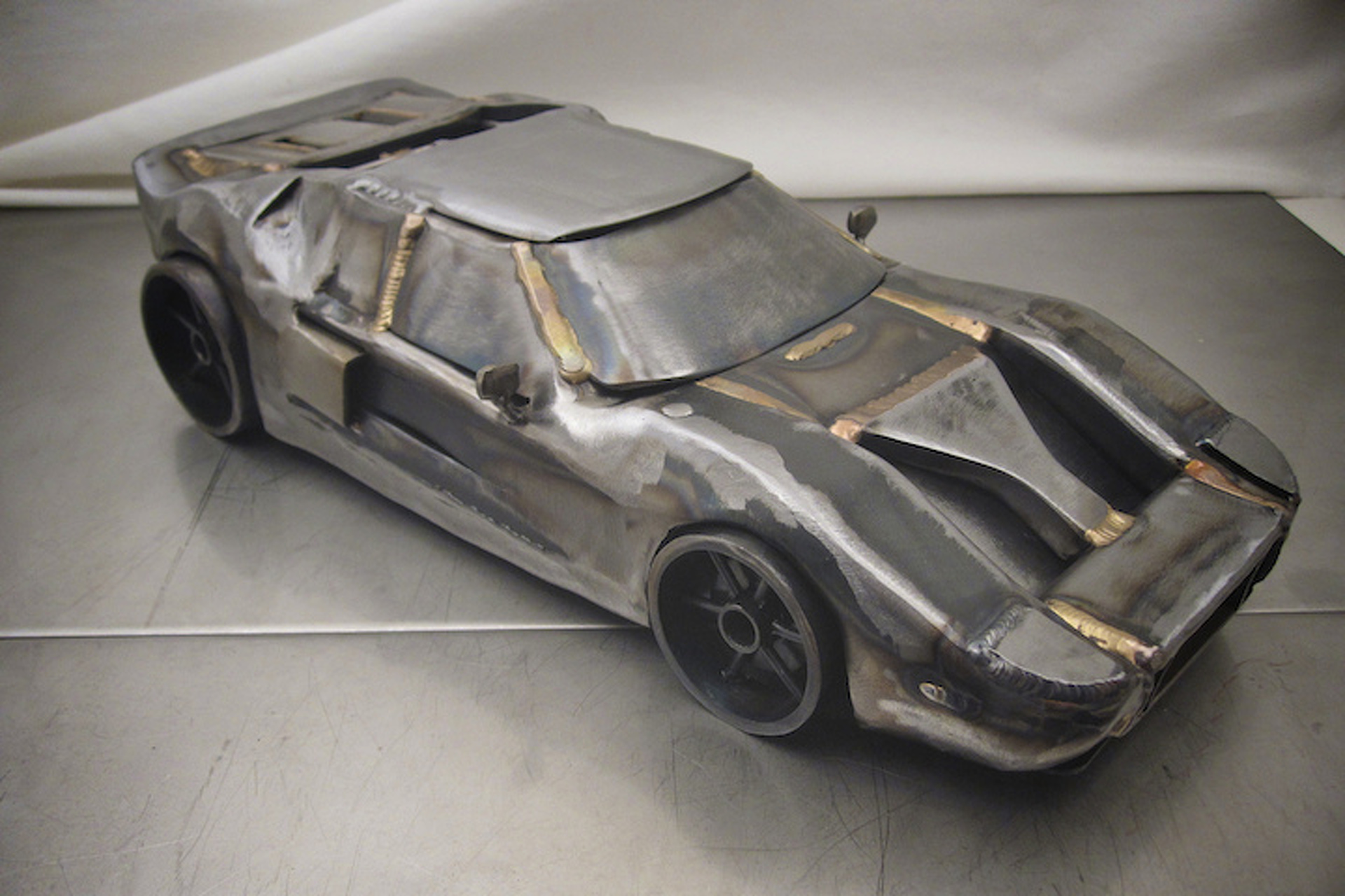These Welded Auto Sculptures Will Leave You Amazed