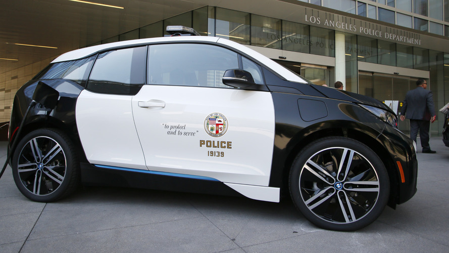 LAPD picks BMW i3 for first electric vehicle, orders 100