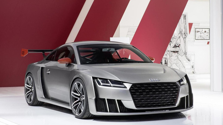 Audi TT clubsport  turbo concept first video released, new images published