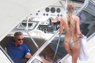 Ex-F1 Driver Eddie Irvine Keeps Good Company Aboard his $20 Million Yacht
