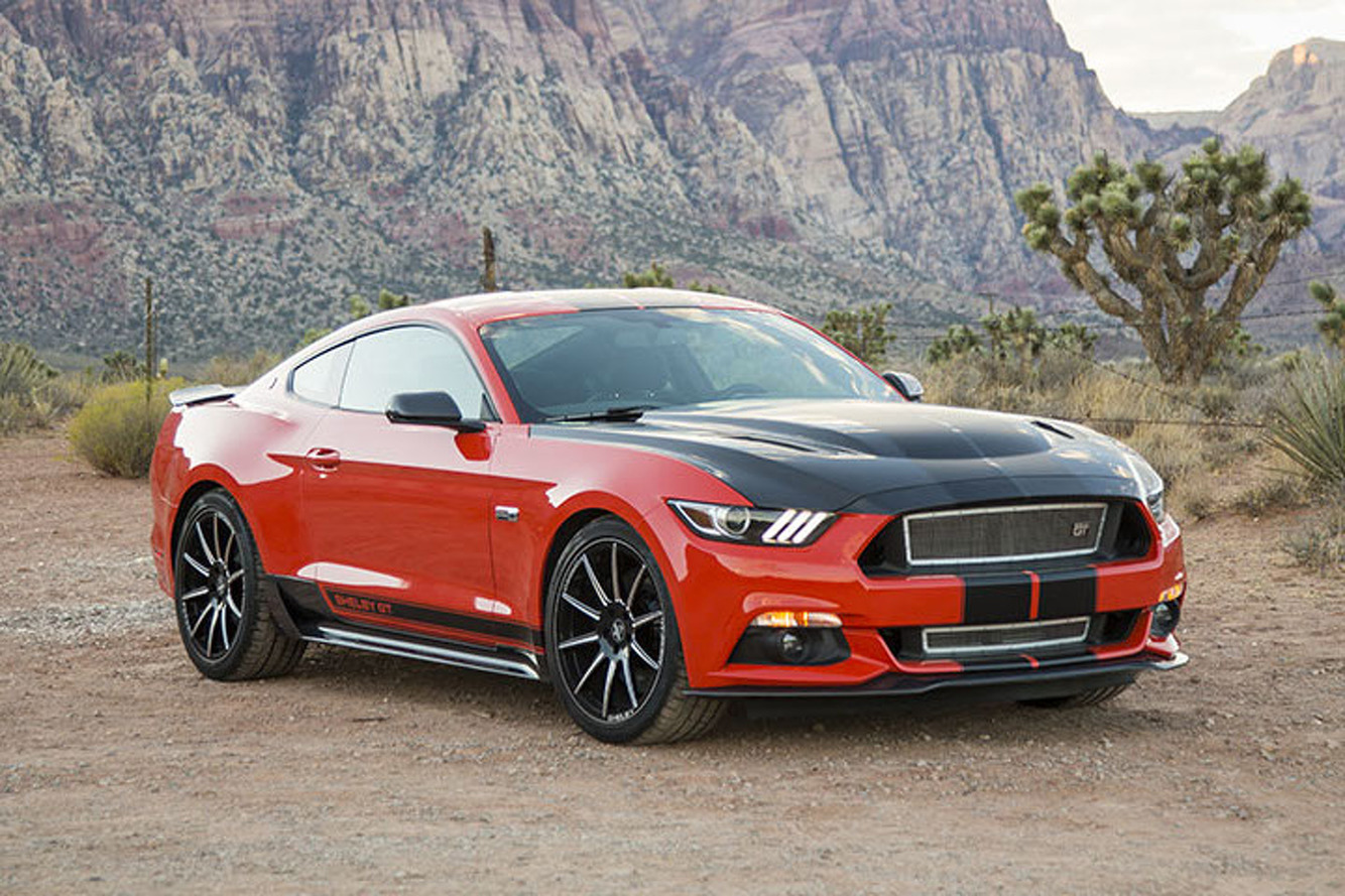 Shelby Created a Mean GT Performance Pack for the EcoBoost Mustang