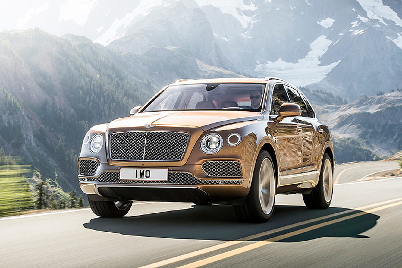 The Bentley Bentayga Proves the W12 Engine is Alive and Well