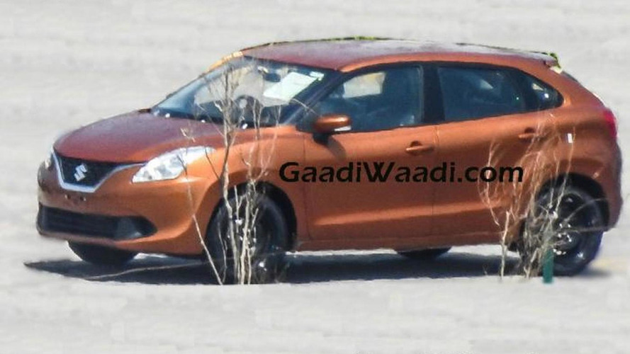 Suzuki Baleno fully revealed in new spy photos