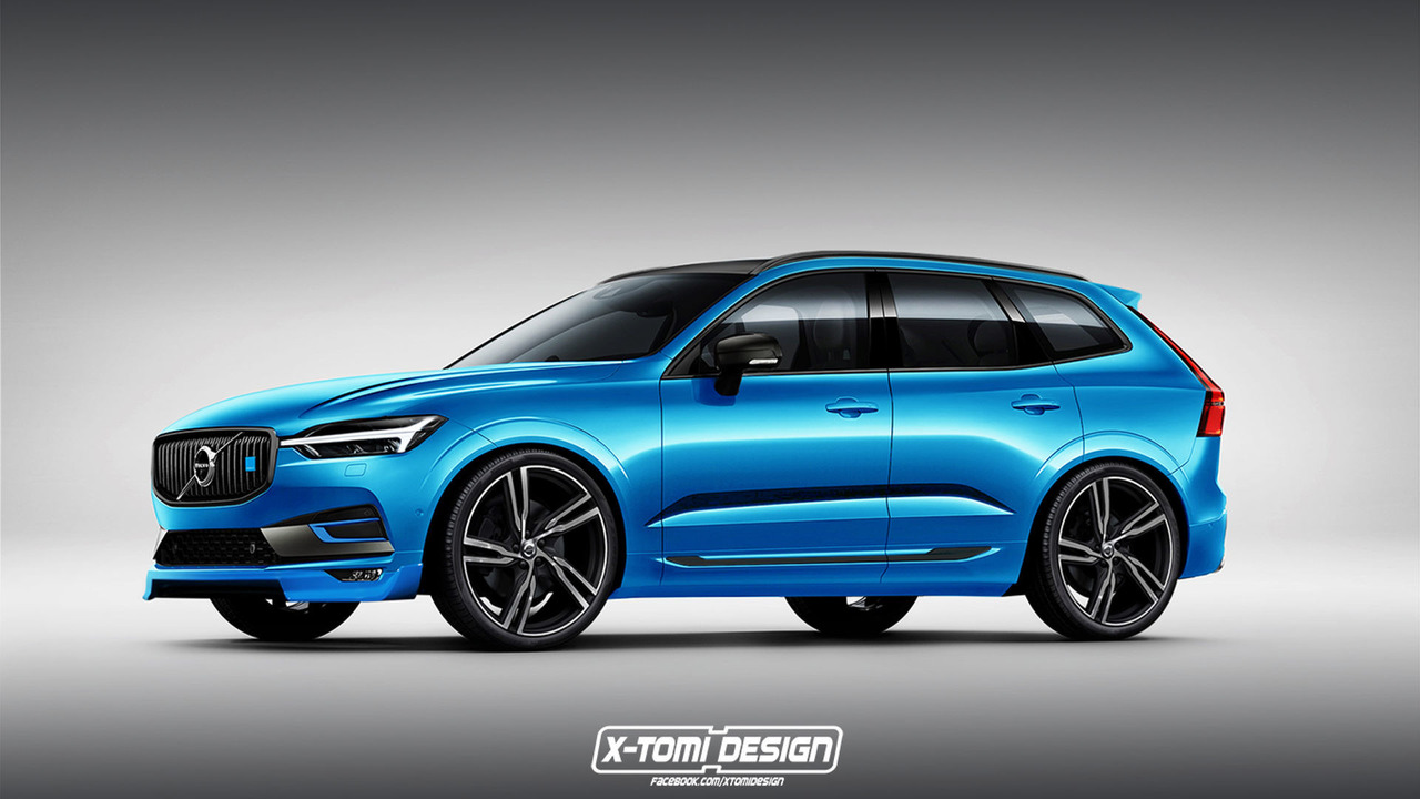 Volvo Xc60 Looks Blue Tiful In Polestar Rendering