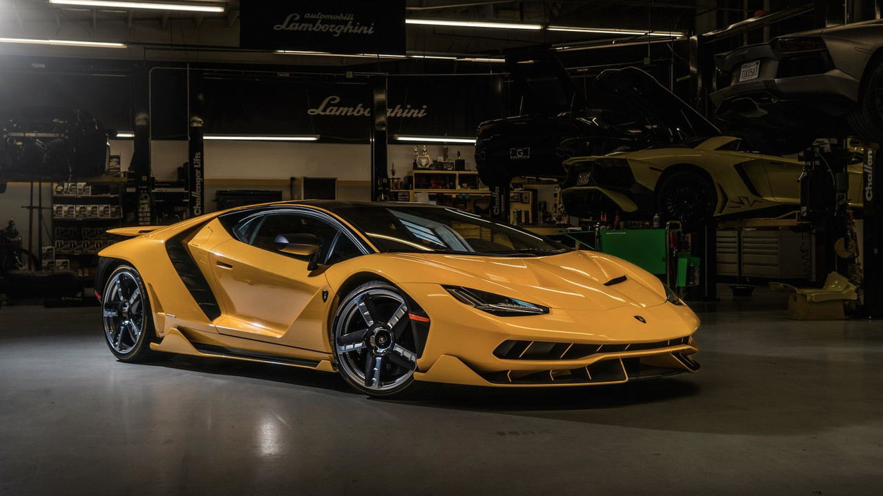 Two New Lamborghini Centenarios Have Landed In The U S