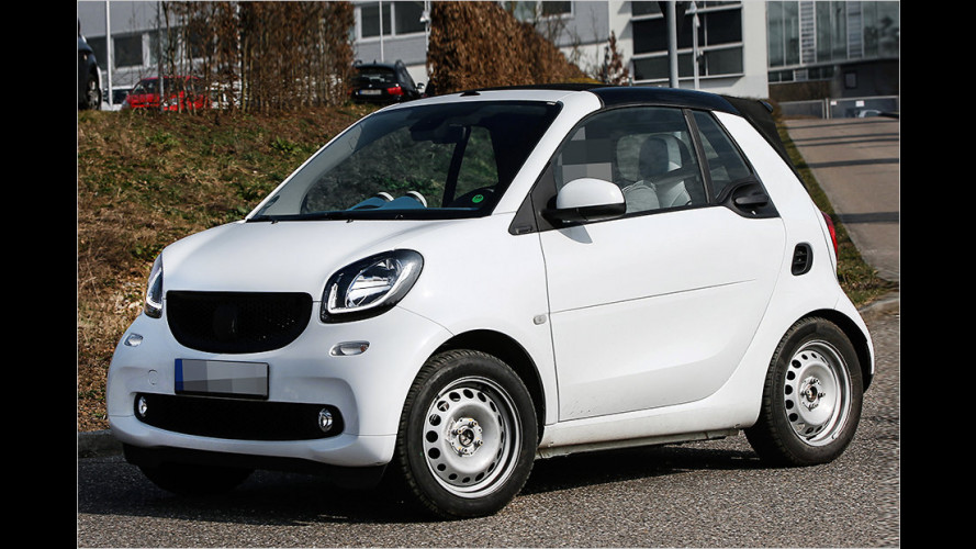 Erwischt: Smart Fortwo Cabrio