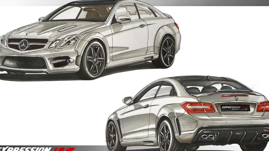 Mercedes E-Class coupe by Expression Motorsport