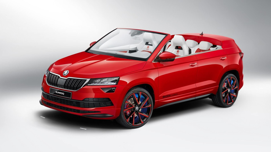 Skoda Sunroq Is The Convertible SUV No One Asked For
