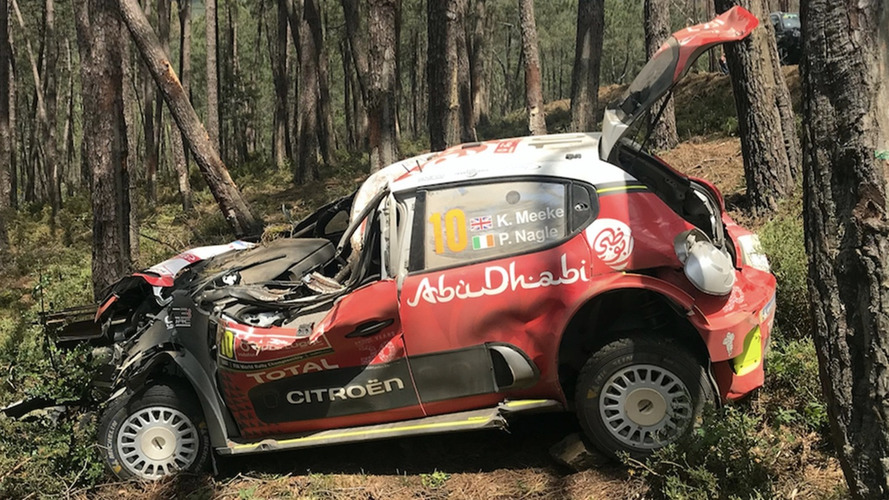 Citroen benches Brit WRC driver because he's had too many crashes