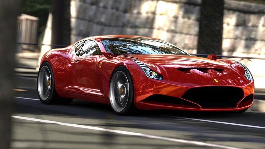 Ferrari 612 GTO Rendered
