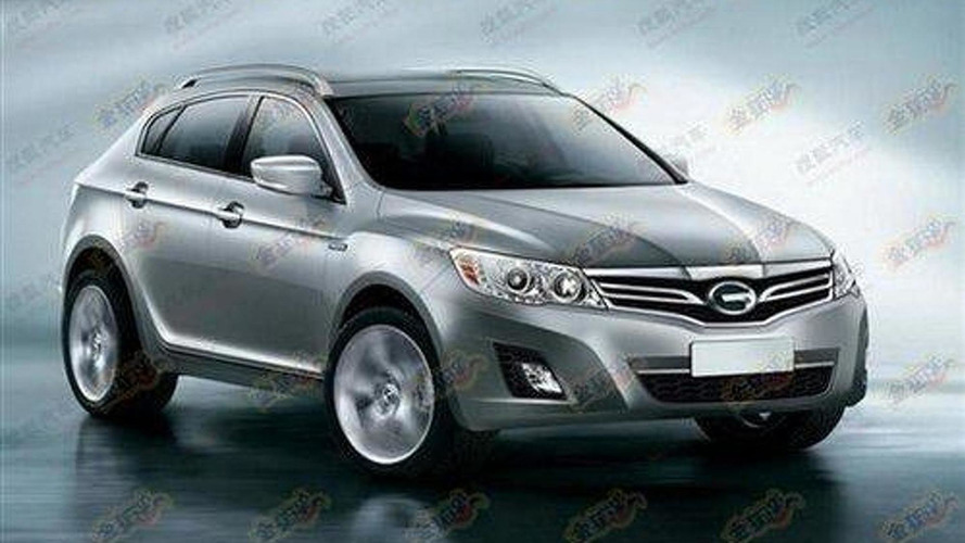 Alfa-based X-Power SUV by GAC renderings leaked