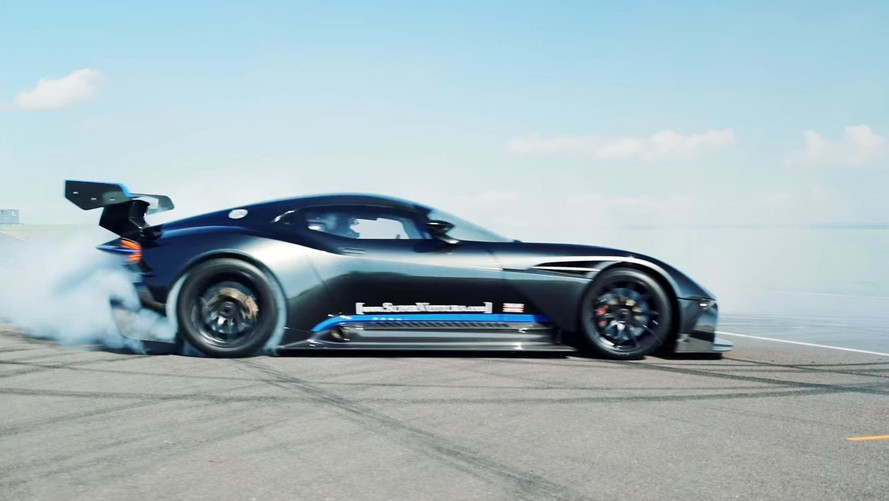 Watch Four Minutes Worth Of Aston Martin Vulcan On-Track Fury