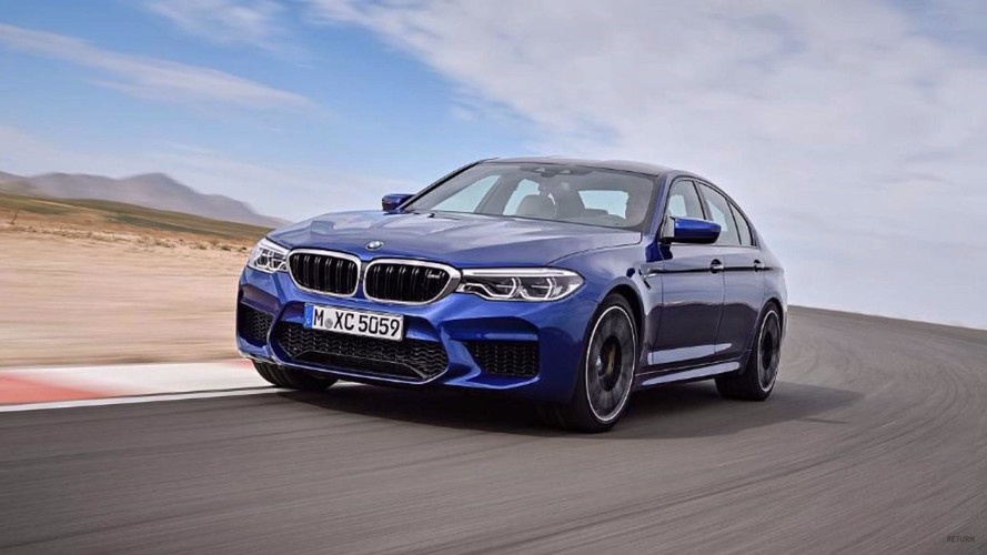 2018 BMW M5 Leaked Ahead Of Reveal