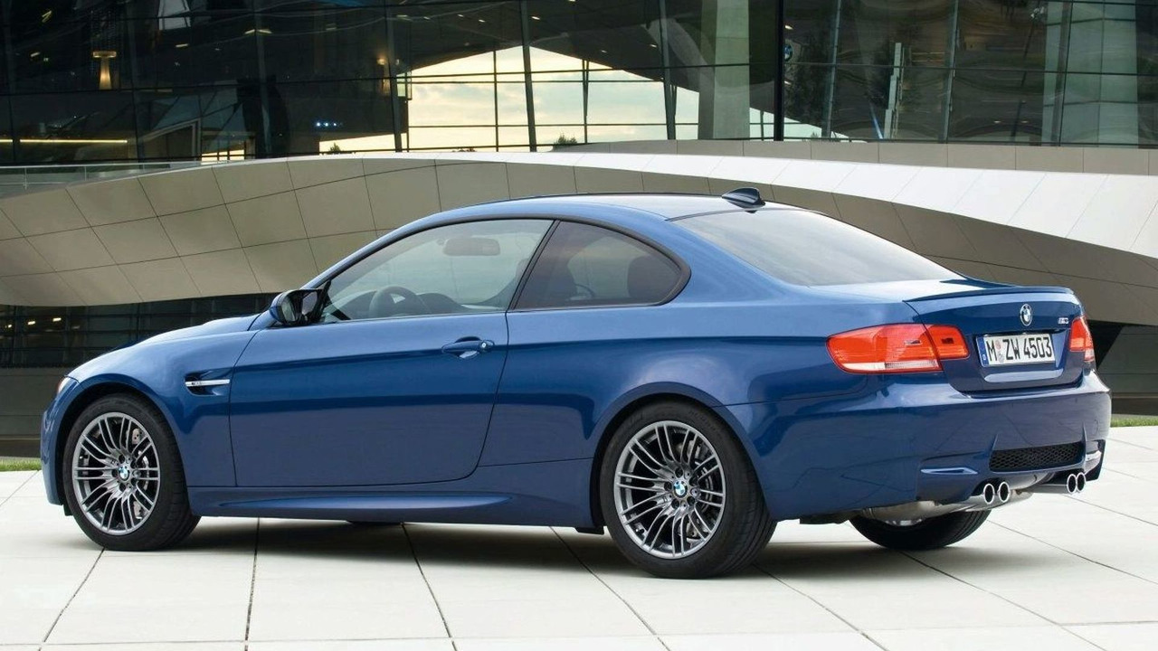 2009 BMW M3 Coupe in Le Mans Blue
