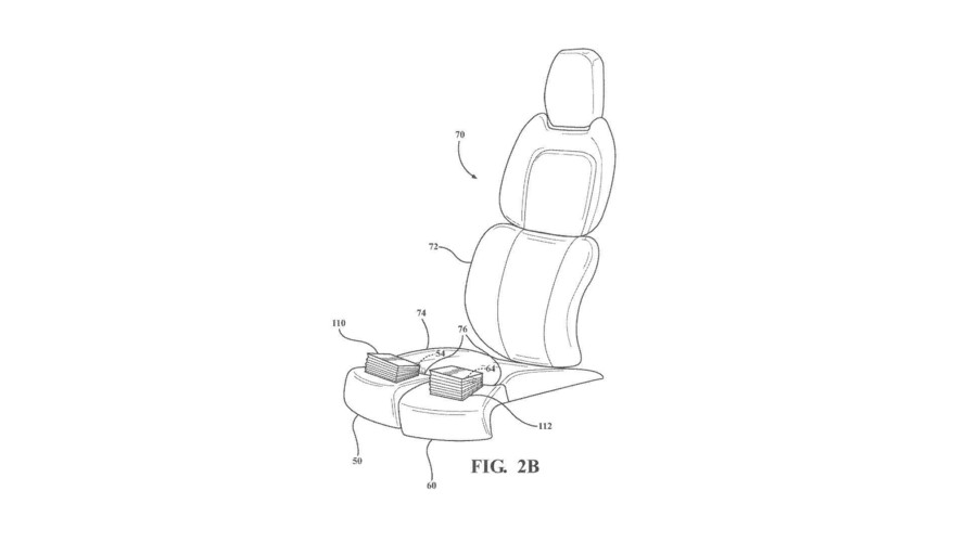 Ford Thigh Support Patent