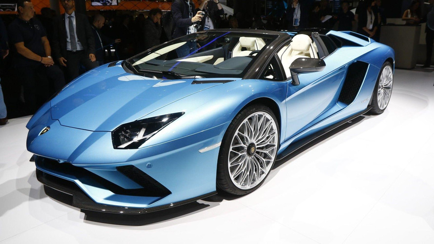 [VİDEO] Lamborghini Aventador S Roadster