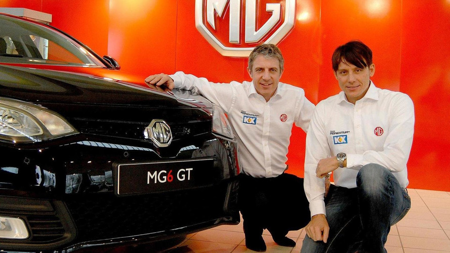 MG enters 2012 BTCC with MG6 GT and Jason Plato