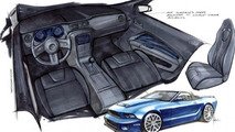 Ford Mustang Convertible by Stitchcraft for SEMA 24.10.2012