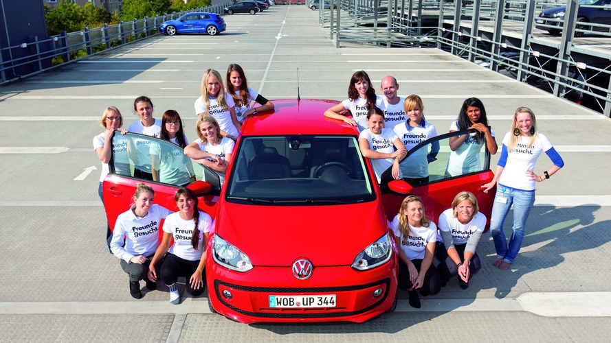 Volkswagen up! fits 16 people