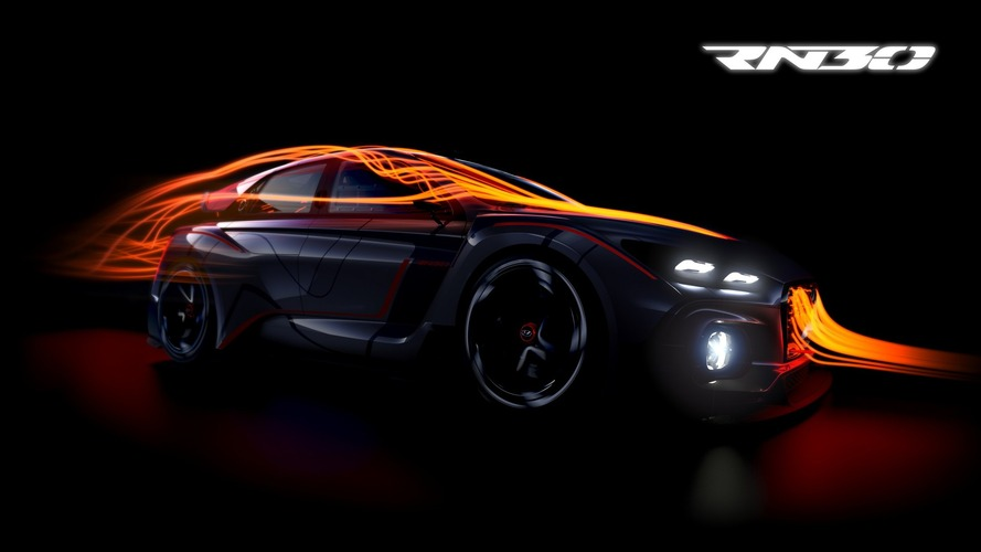Hyundai RN30 concept teased for Paris debut
