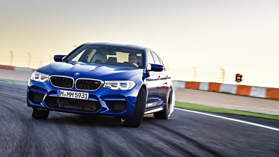 BMW M5 Competition Package Details Are Slowly Leaking