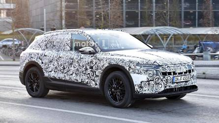 Audi E-Tron Quattro CUV Seen Silently Testing On The Street