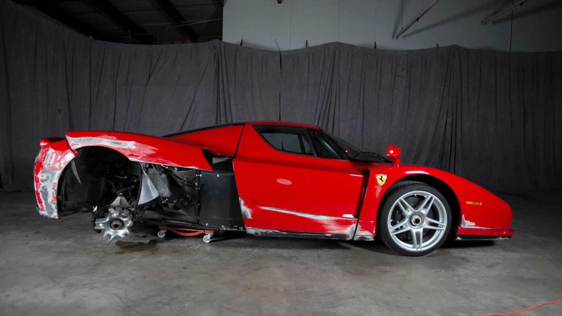 Damaged 2003 Ferrari Enzo being auctioned online, currently at ...