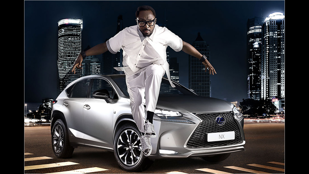 will.i.am: Lexus NX