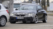 BMW M2 facelift photos espion