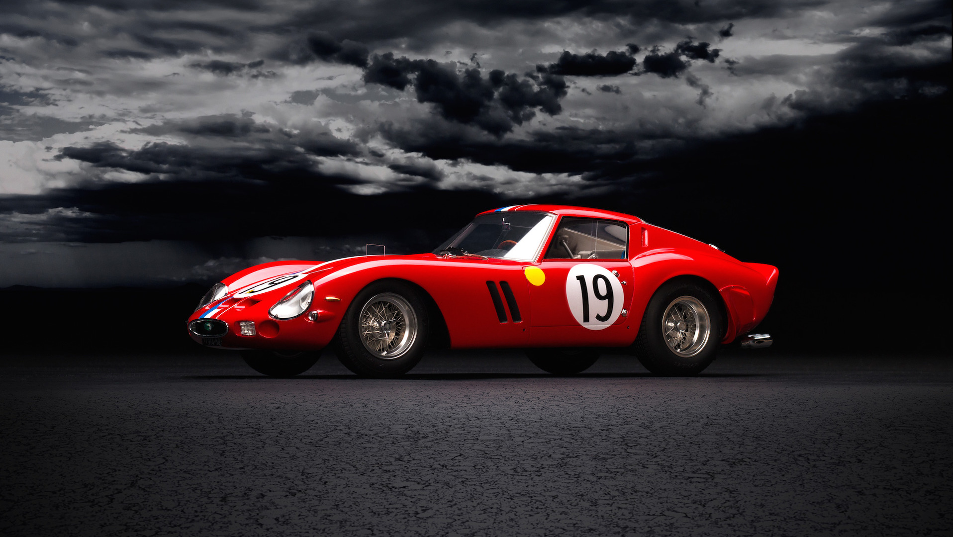 amalgam une superbe ferrari 250 gto 24 heures du mans 1962 l 39 chelle 1 18. Black Bedroom Furniture Sets. Home Design Ideas