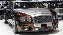 Bentley Flying Spur by Mansory live in Geneva