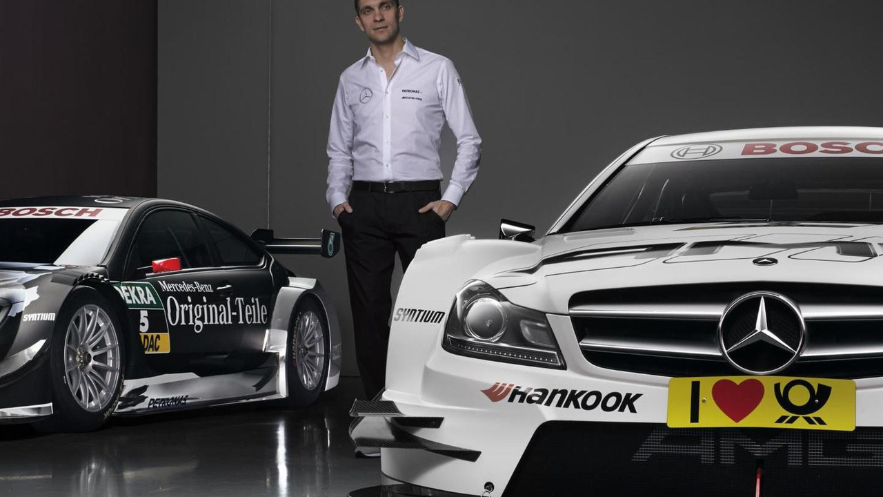 Vitaly Petrov with Mercedes AMG DTM C-Coupe